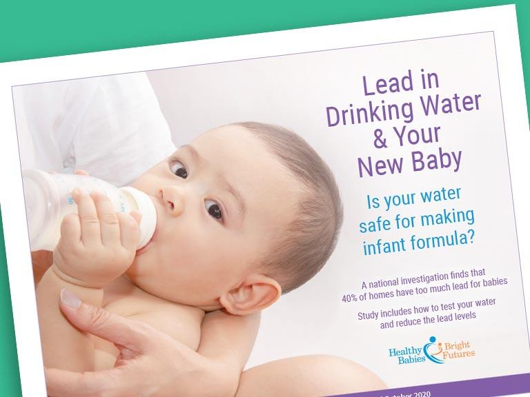 Lead in Drinking Water & Your New Baby
