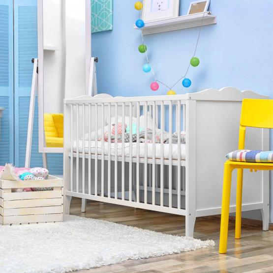 View of a child's nursery